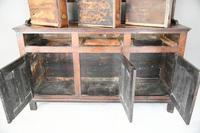 Antique Rustic English Country Kitchen Georgian Oak Dresser (6 of 12)