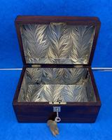 Victorian Rosewood Box with Mother of Pearl Inlay (8 of 11)
