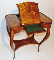 Louis XV Kingwood & Marquetry Poudreuse (13 of 15)