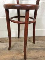 Small Red Bentwood Chair (5 of 8)