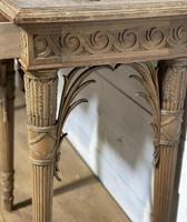 Wonderful French Walnut Console Table (34 of 36)