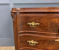 19th Century French Flame Mahogany Commode (8 of 20)