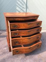 Antique Burr Walnut Chest Drawers (9 of 11)
