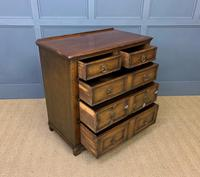 Oak Jacobean Style Chest of Drawers (5 of 13)