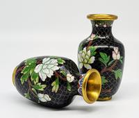Vintage Small Chinese Cloisonne Vase (4 of 5)