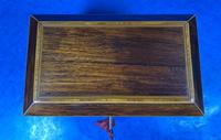 Regency Rosewood Twin Section Tea Caddy (6 of 12)