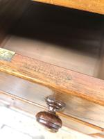 Large Antique Mahogany Chest of Drawers by Maple & Co (7 of 13)