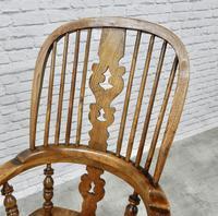 Antique Broadarm Windsor Armchair in Ash & Elm (4 of 7)