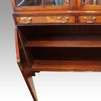 George VI Mahogany Library Bookcase (4 of 13)