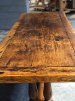 Wonderful French Chestnut Farmhouse Refectory Dining Table (25 of 37)