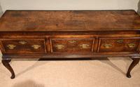 Stunning George III Oak Dresser Base (4 of 10)