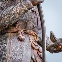 Japanese Bronze Figure (3 of 10)