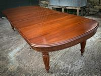 Victorian 3 Leaf Extending Dining Table Seats 10 (13 of 13)