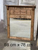 French 19th Century Overmantle Mirror (11 of 11)