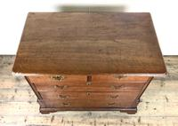 George III Walnut Chest of Drawers (12 of 14)