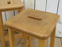 Set Of Four School Lab Bar Stools (6 of 7)