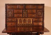 Spanish Renaissance Cabinet Bargueno in Walnut - Early 17th Century (7 of 18)