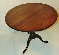 Georgian Oak Birdcage Tripod Table (3 of 6)