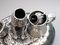 Victorian Novelty Silver Figural Terrier Dog Table Lighter,  by James Barclay Hennell, London, 1881 (12 of 17)