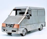 Handmade Steelman Nuts & Bolts Model Van (5 of 7)