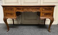 Fine Quality Burr Walnut Desk (7 of 25)