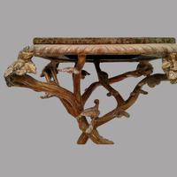 A Maitland Smith (philippines) Rectangular Marble Topped Table (2 of 4)