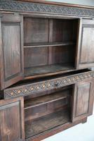 Gothic Revival Oak Cupboard (11 of 12)