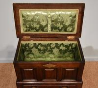 18th Century Welsh Oak Marriage Coffor Bach / Coffer (4 of 8)