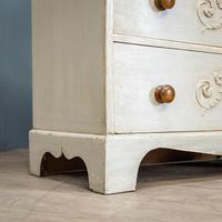Painted 3 Drawer Chest (5 of 9)