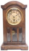 Antique German Mantel Clock Bevelled 4 Glass Mantle Clock by Hac (2 of 13)