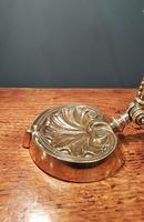 Superb Antique Brass Adjustable Desk Lamp (7 of 7)