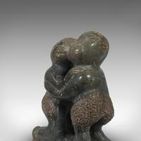 Small Antique Tribal Figure, Polynesian, Decorative, Soapstone, Statue, C.1900 (8 of 10)