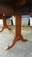 Antique Design Walnut Serpentine Front Desk (7 of 7)