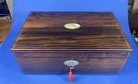 William IV Pewter Inlaid Rosewood Box (7 of 18)