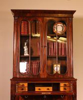 Small English Bookcase With Secretaire From The 19th Century In Mahogany (11 of 11)