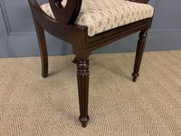 Excellent Pair of Regency Mahogany Scroll Armchairs (14 of 17)