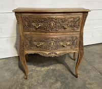 Stylish French Bleached Oak Commode Chest (6 of 20)