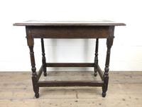 Early 18th Century Joined Oak Side Table (2 of 8)
