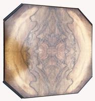 Good Quality Art Deco Burr Walnut Octagonal Side Table (4 of 6)
