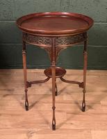 Fine Quality Edwardian Side or Lamp Table (3 of 10)