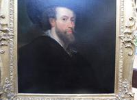 Large Oil on Canvas Old Master Portrait Peter Paul Reubens 1760 (7 of 8)