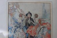 Vintage Original Watercolour - poss. Book Illustration - Yvonne Hind (6 of 8)