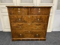 Superb Quality Walnut Chest of Drawers (17 of 18)