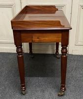 Victorian 2 Drawer Writing Table or Desk (13 of 16)