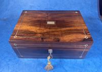 William IV Rosewood Jewellery Box (5 of 13)