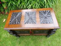 Country Oak Cottage Coffer 1860 (5 of 12)