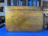 Victorian Walnut Stationary Box (9 of 15)