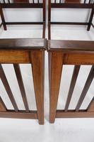 Pair of Edwardian Mahogany & Inlaid Single Beds (6 of 13)