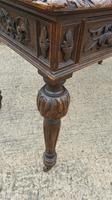 Quality Victorian Oak Writing Desk (12 of 12)