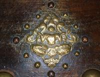 Characterful Early Indian Chest 18th Century (9 of 10)